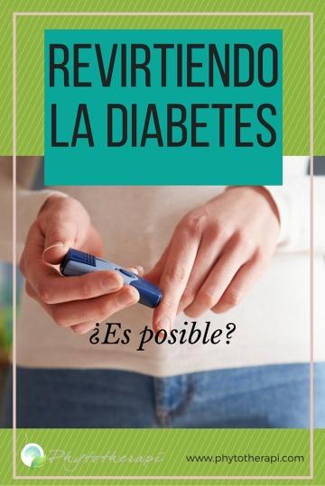 Reversing Diabetes -SPANISH