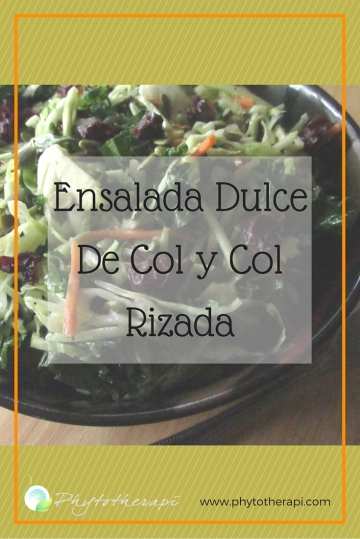 Sweet Kale and Cabbage Salad-SPANISH