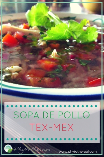 Tex-Mex Chicken Soup-SPANISH