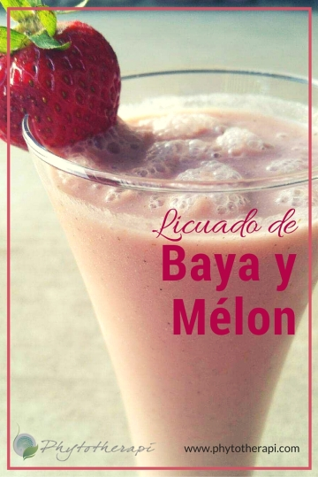 Berry Melon Smoothie-SPANISH