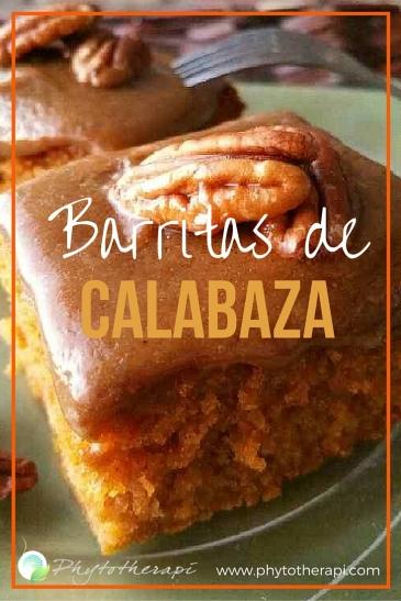 Pumpkin bars-SPANISH