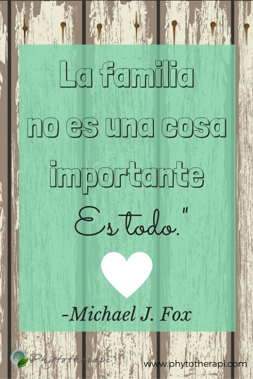 Family is not an important thing.-PINTEREST-Spanish
