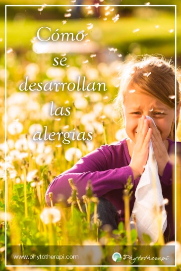 Allergies develop Span