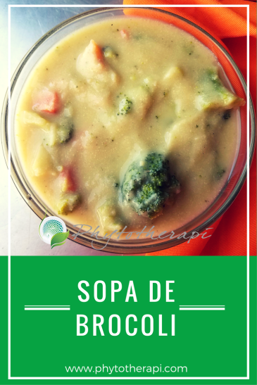 Broccoli soup-SPANISH