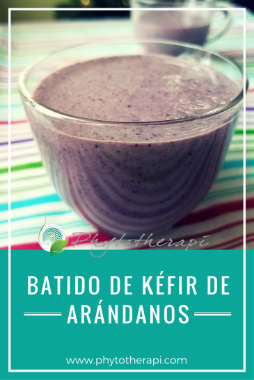 Blueberry Kefir Smoothie-SPANISH