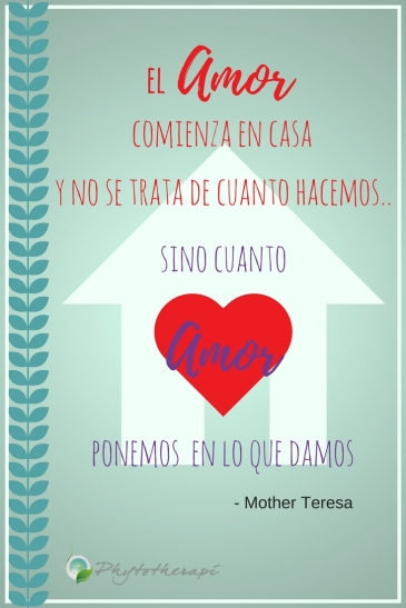 Love begins at home-Spanish