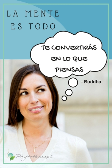 what you think,you become- Spanish
