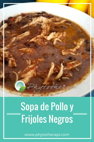 Black Bean Soup-Spanish